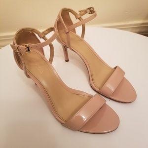 Michael Kors Patent Leather Cream/Tan Heels Pumps